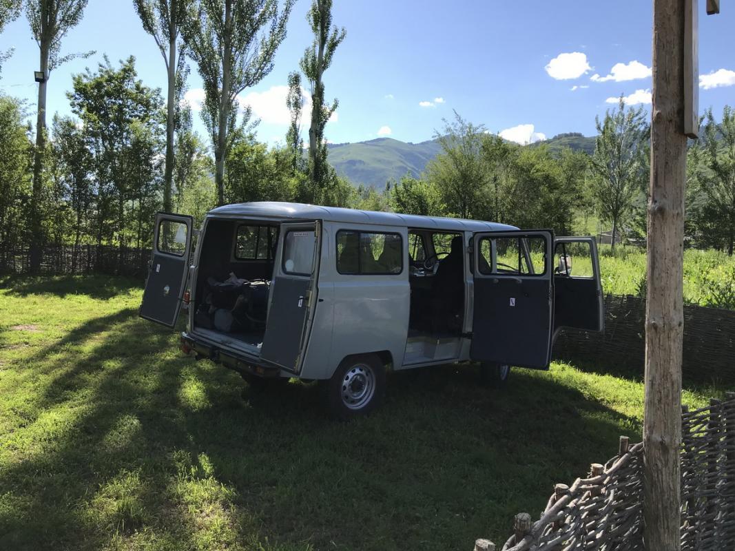 UAZ Buhanka Rental in Kyrgyzstan | Car Hire in Bishkek